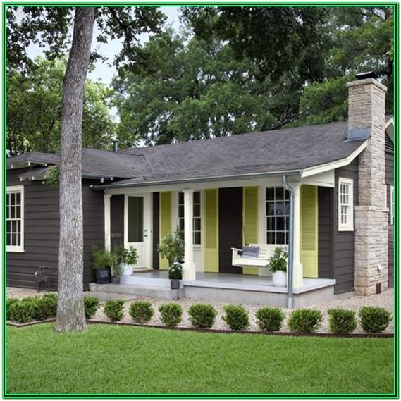 1930's Bungalow Exterior Paint Colors