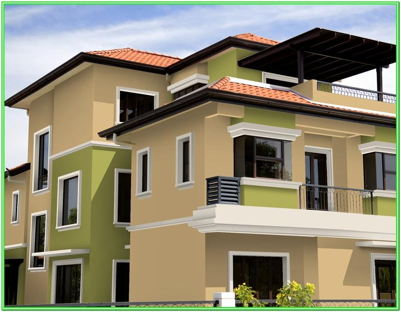 Asian Paints Exterior House Colour Images