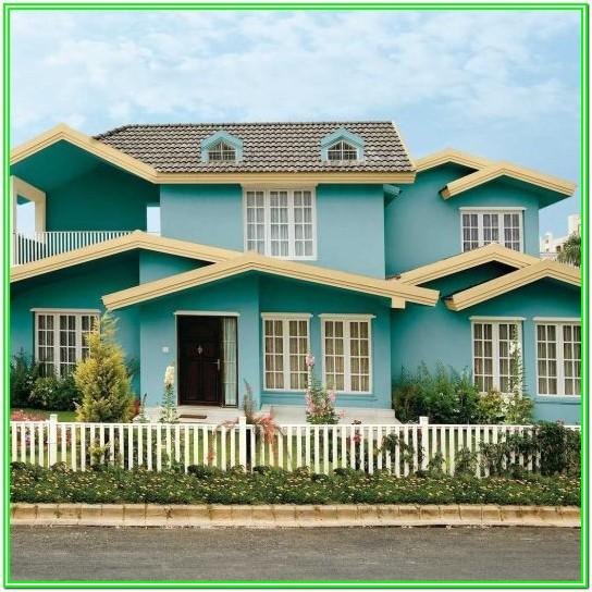 Asian Paints Exterior Wall Colour Combinations Images