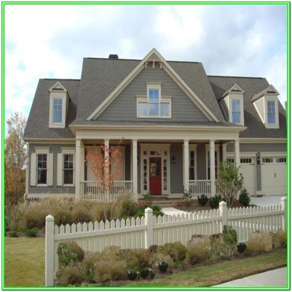 Benjamin Moore Exterior House Color Combinations