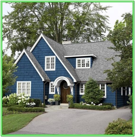 benjamin moore exterior house color schemes