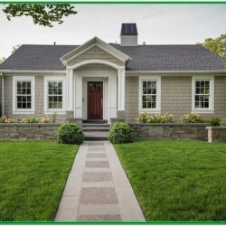 Benjamin Moore Historical Exterior Color Combinations 1