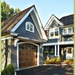 Best Blue Gray Exterior House Color 1