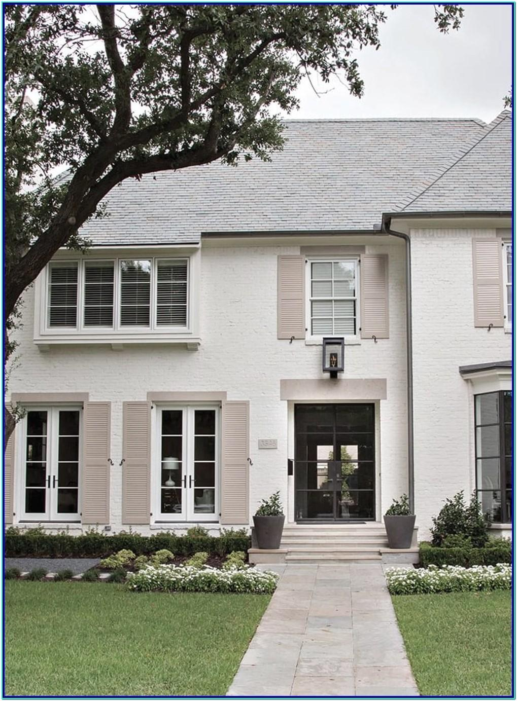 best color combination for exterior of a house