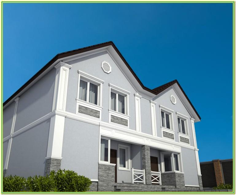 best color combination for exterior wall 4