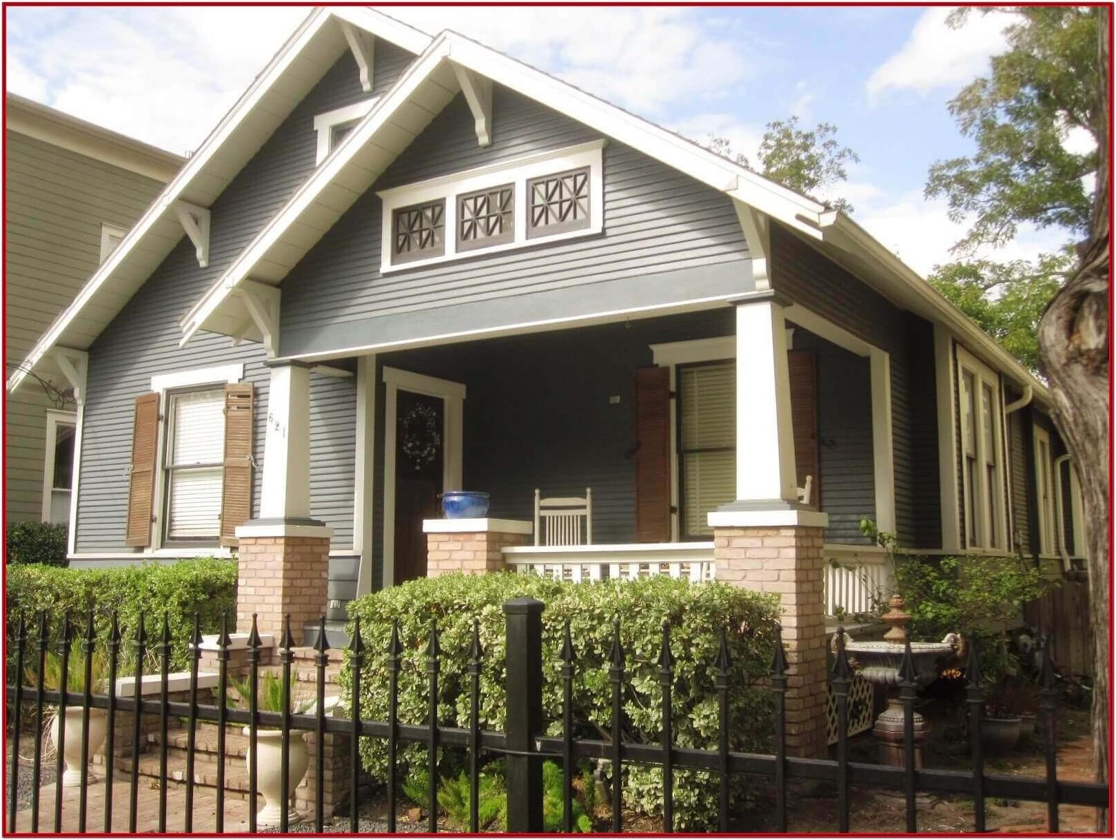Best Exterior House Paint Color Combinations