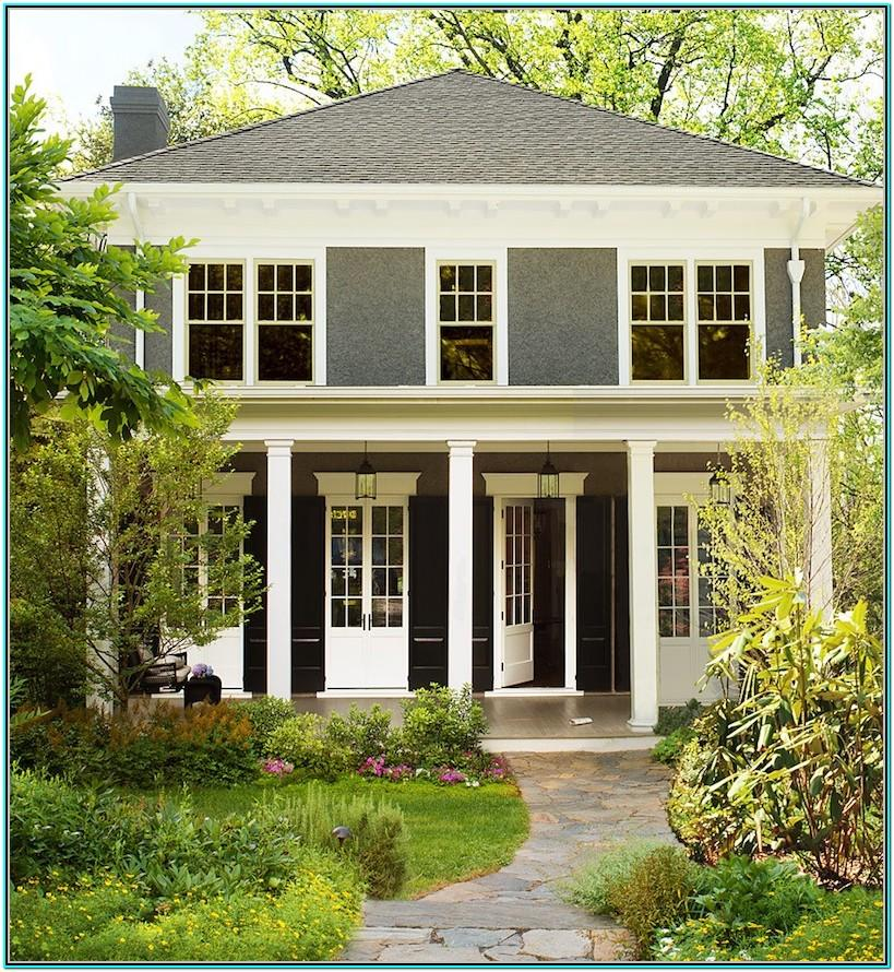 Best Exterior White House Paint Colors
