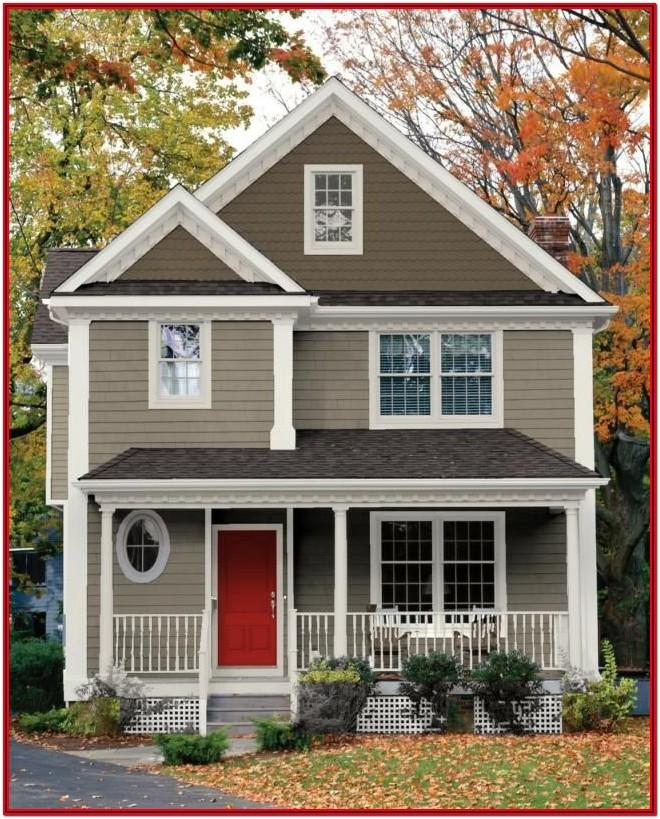 Best House Exterior Colour Combinations
