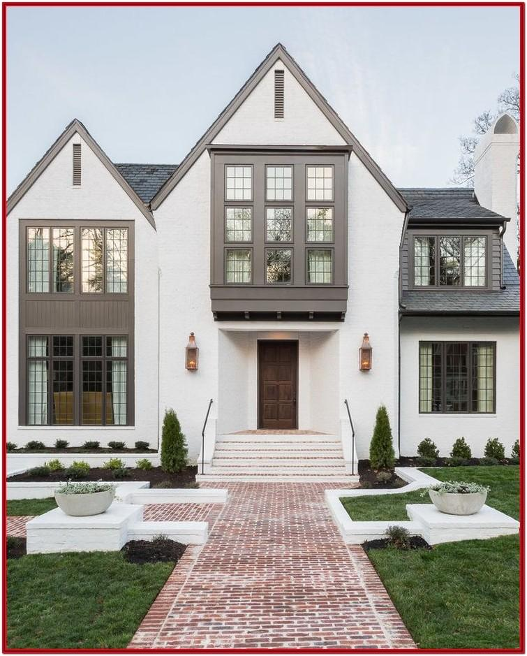 Best White Exterior Brick Paint Color