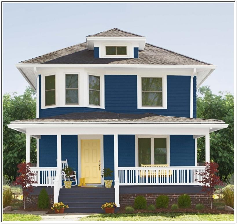 Color Combination For Exterior House In India