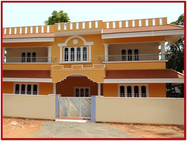 Color Combination For Home Exterior India