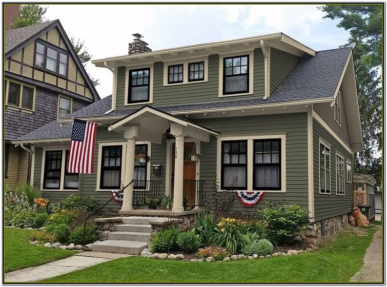 Color Combination For Modern House Exterior Paints