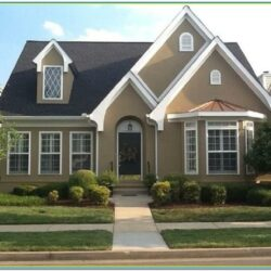 Color Combinations For Exterior House Paint 1