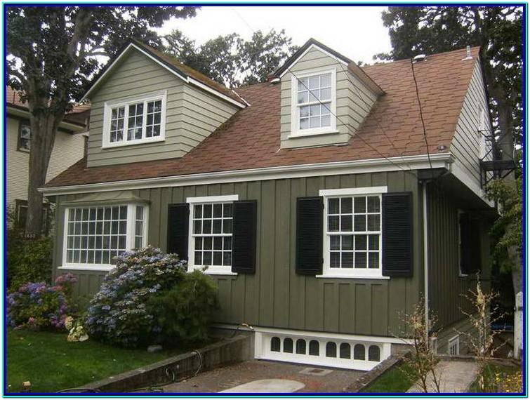 Color Combinations For Exterior House With Brown Roof