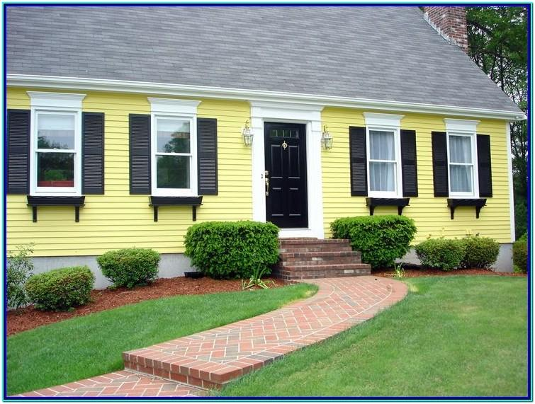 Color Schemes For Painting Exterior Of House