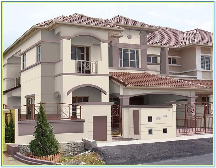 Colour Combination For Exterior House Painting Asian Paints