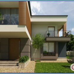Colour Combination For Exterior House Painting In India 1