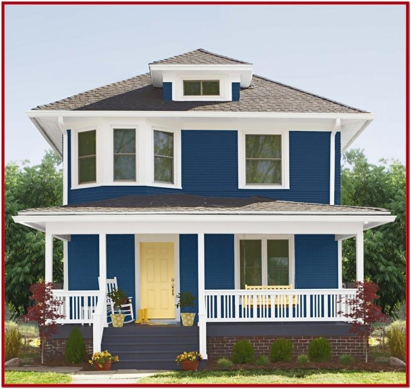 Colour Combination For Exterior House Painting In India
