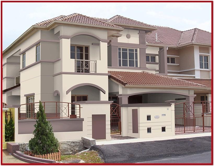 Colour Combination For House Exterior India