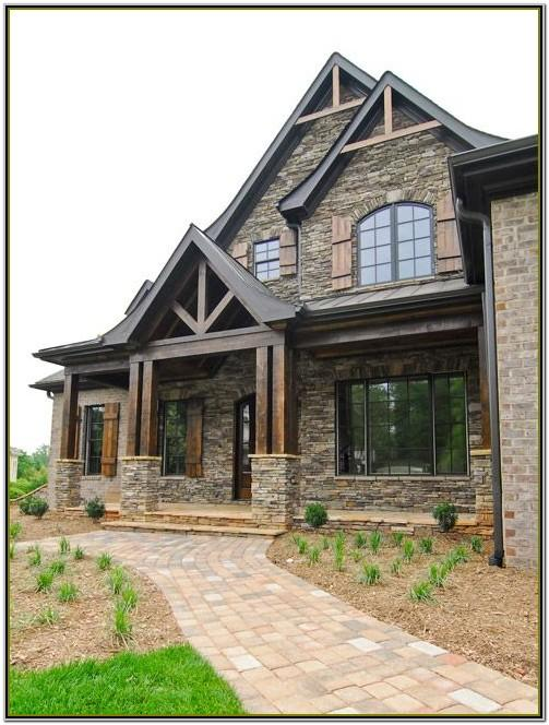 Colour Scheme For Brick House Exteriors