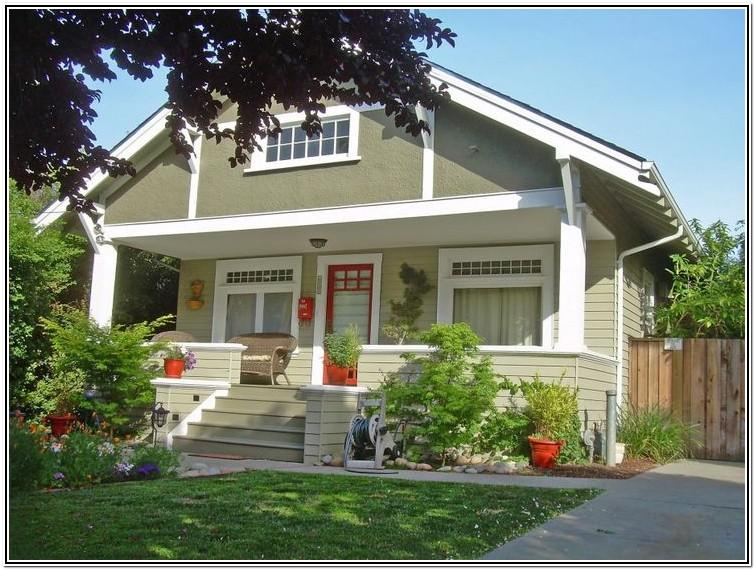 Craftsman Bungalow Exterior Color Schemes