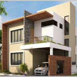 Exterior Color Combinations For Small Houses In India 1