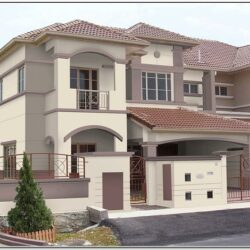 Exterior Colour Combination For House In India 1