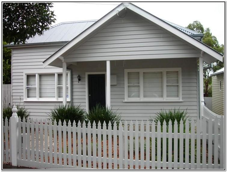 Exterior Colour Schemes For Weatherboard Houses