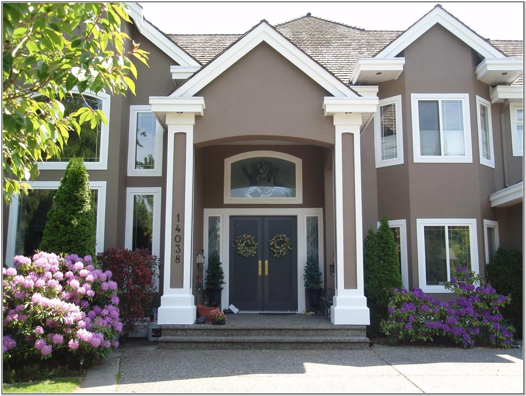 exterior home color images
