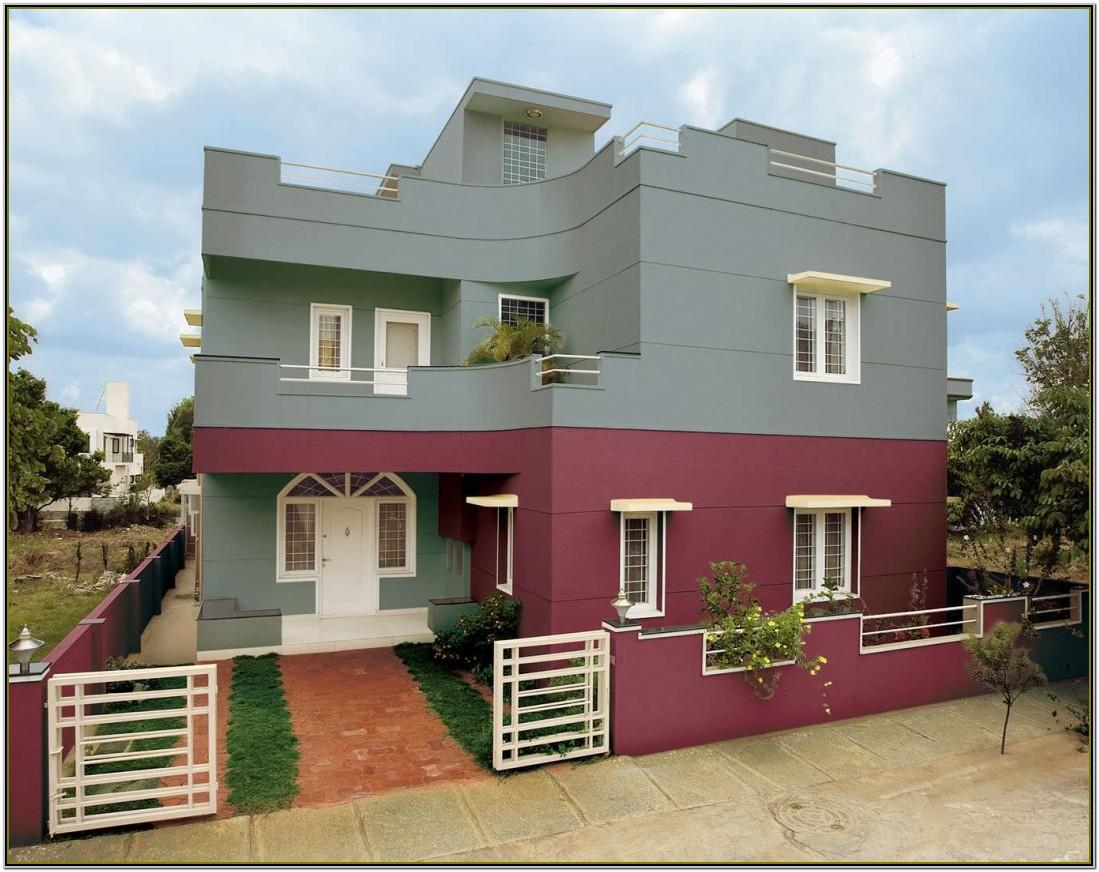 Exterior House Color Combinations India