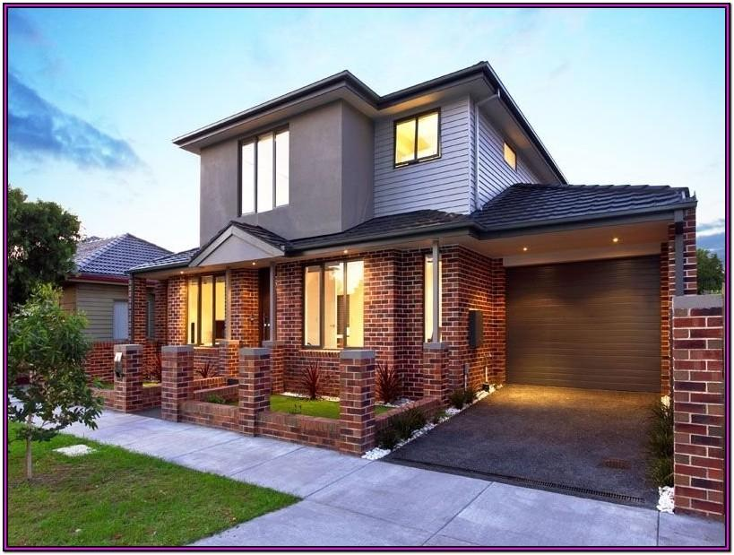 Exterior House Color Ideas With Red Brick