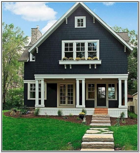exterior house color images