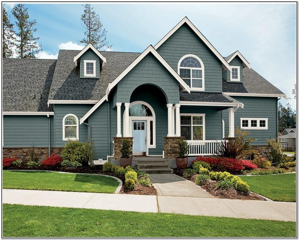 Exterior House Colors Examples Gallery
