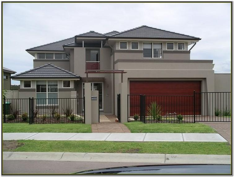 exterior house colour combinations australia