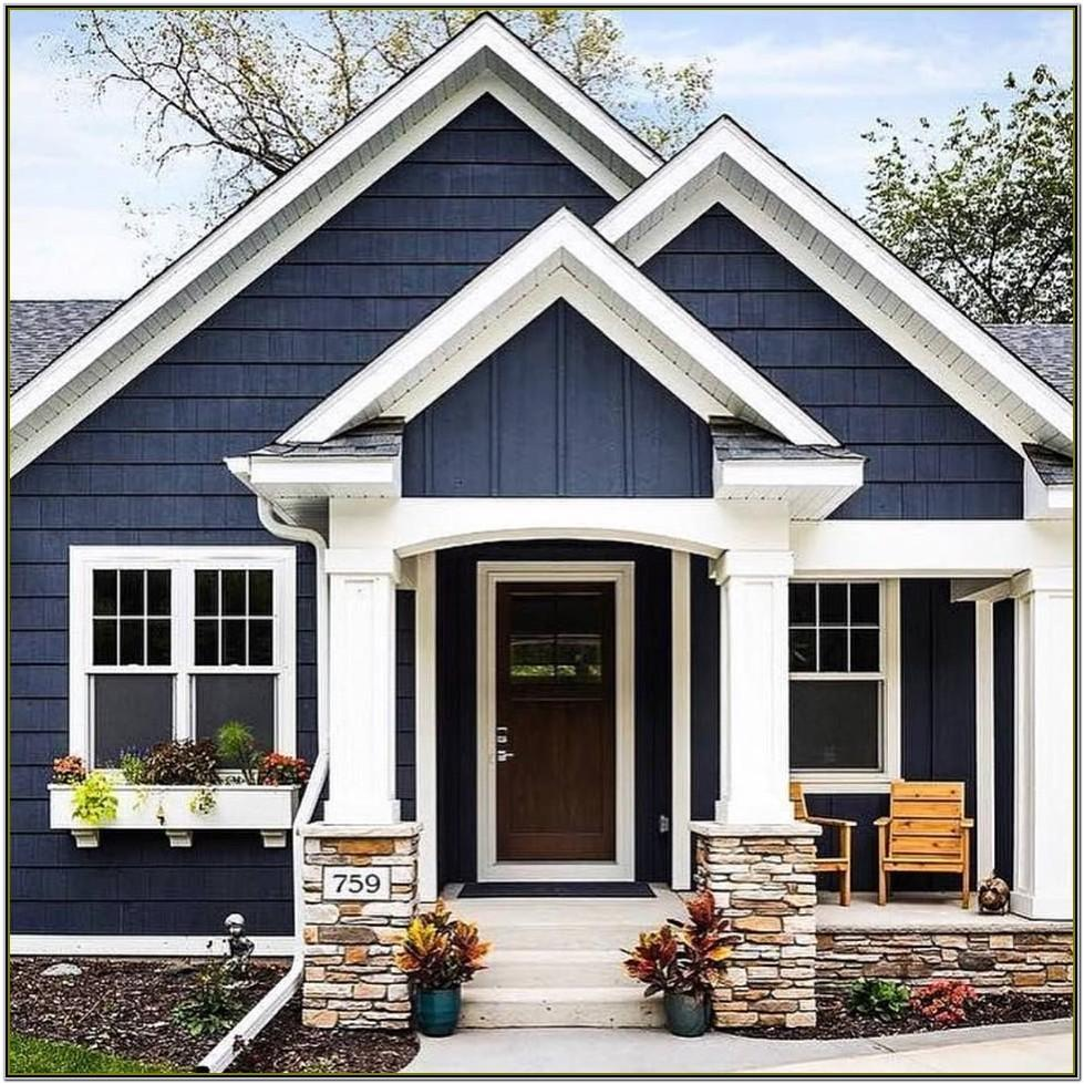 Exterior House Colour Schemes 2019