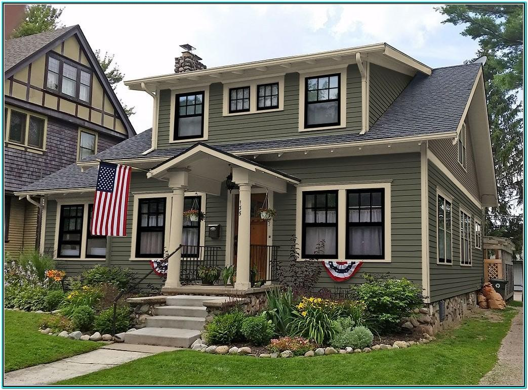 Exterior House Colour Schemes