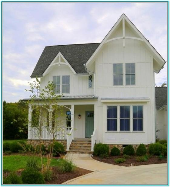 Exterior House Paint Color Schemes White