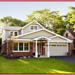 Exterior House Paint Colors With Red Brick 1