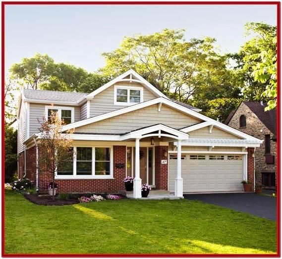 Exterior House Paint Colors With Red Brick