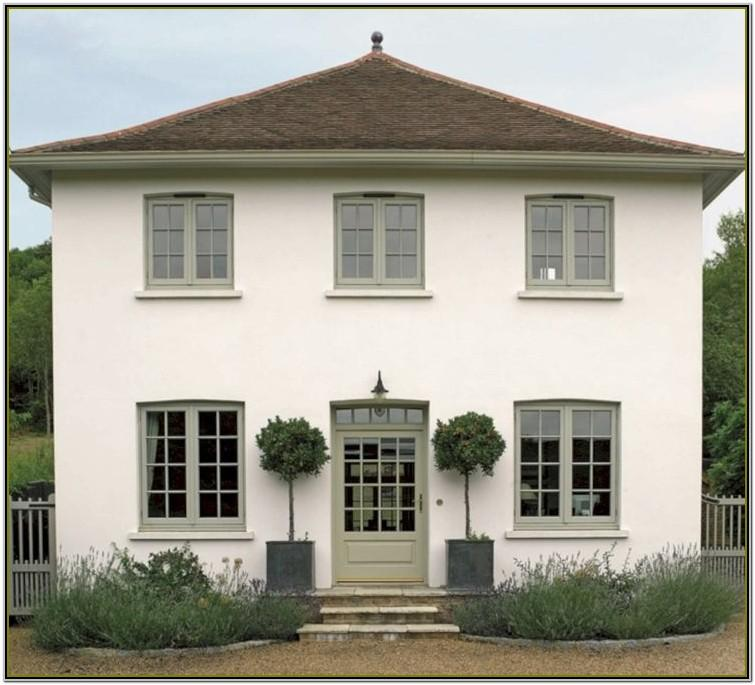 exterior house paint ideas with brown roof