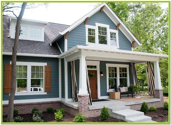 exterior paint color combinations images 2018