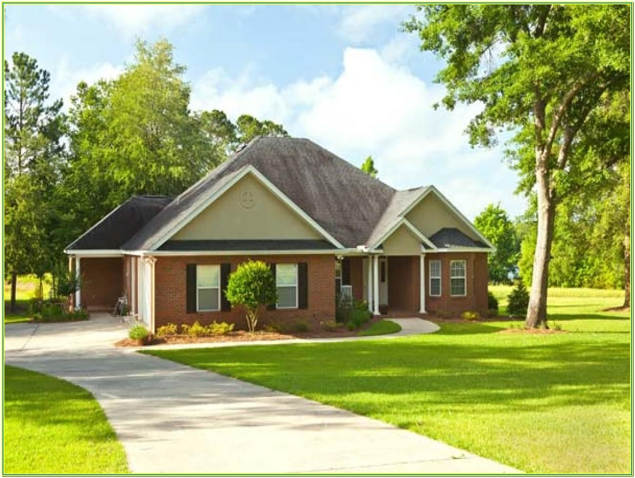 Exterior Paint Color Combinations Images With Brick