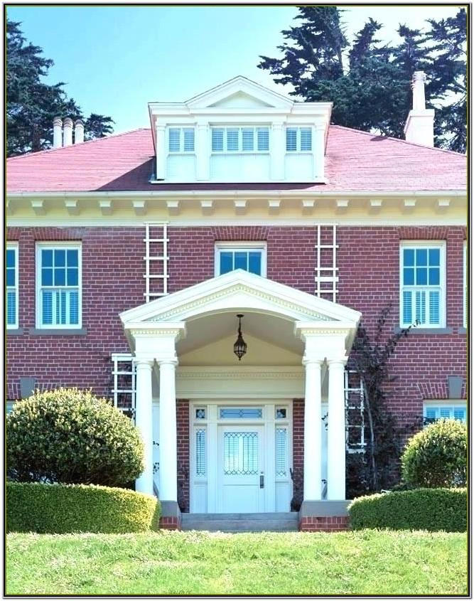 Exterior Paint Color Ideas With Red Brick