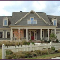 Exterior Paint Color Schemes For Brick Homes 1