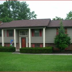 Exterior Paint Color Schemes With Red Brick 1
