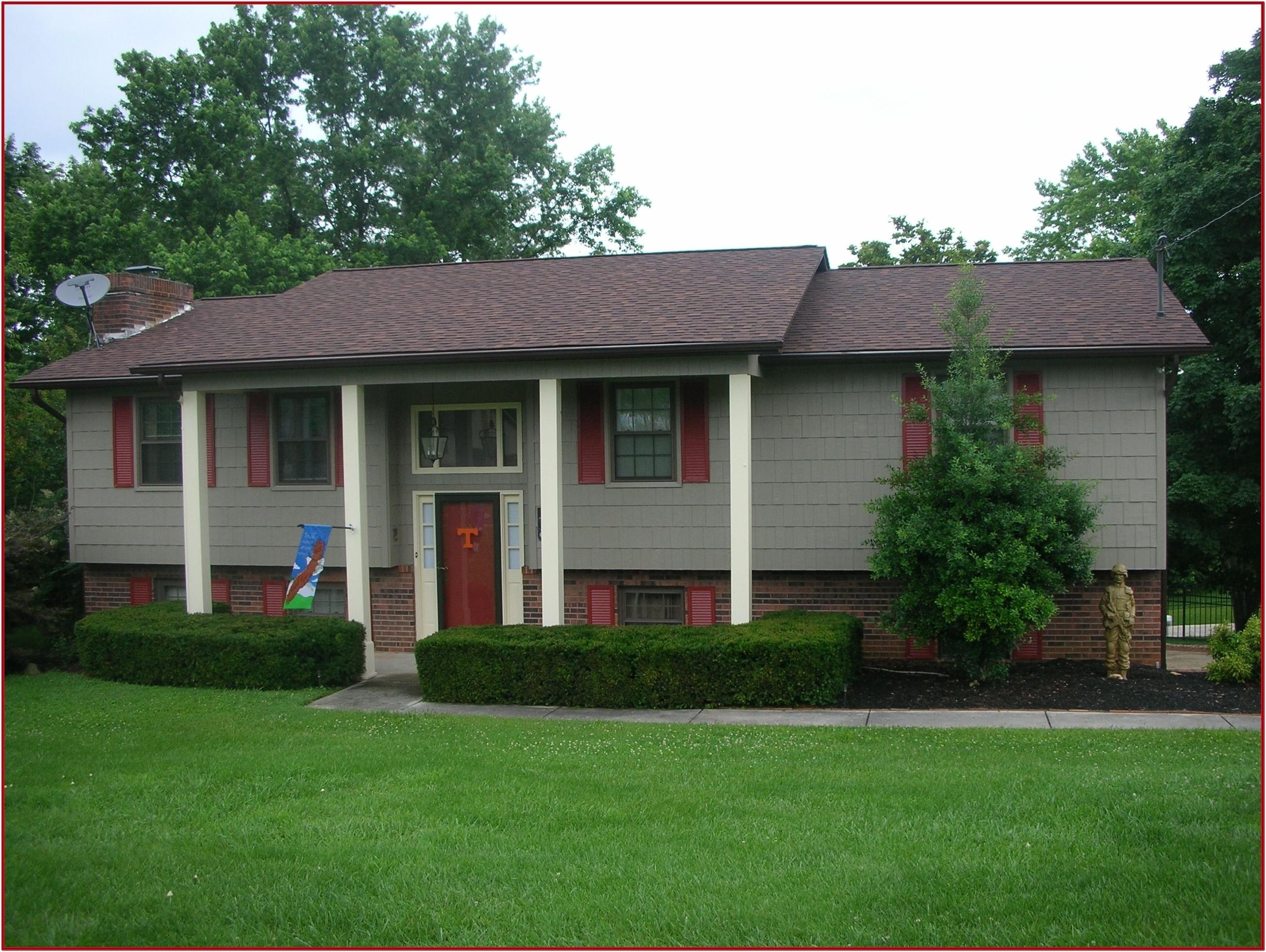Exterior Paint Color Schemes With Red Brick