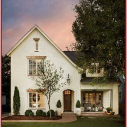 Exterior Paint Colors For White Brick House 1