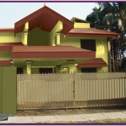 Exterior Wall Colour For Indian House 2