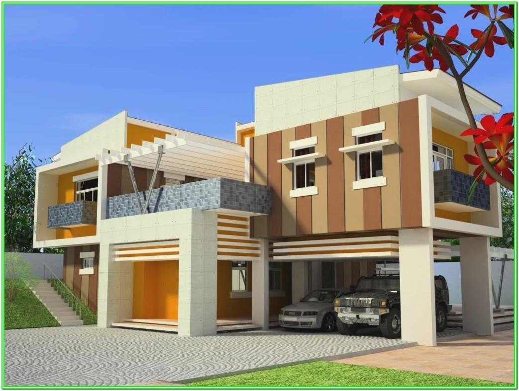 Exterior Wall Paint Colour Combination India