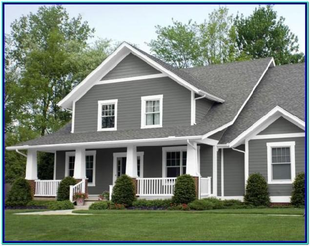 Gray Color Schemes For Exterior House
